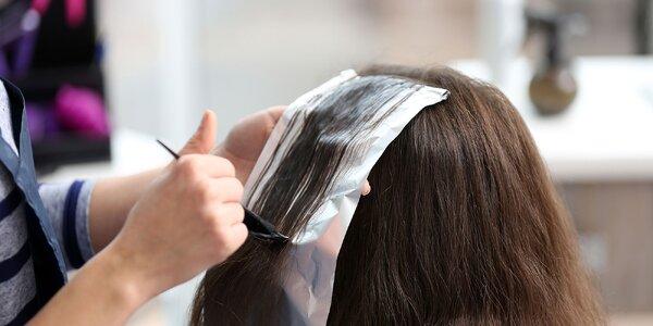 Kompletná starostlivosť o vlasy aj s farbením