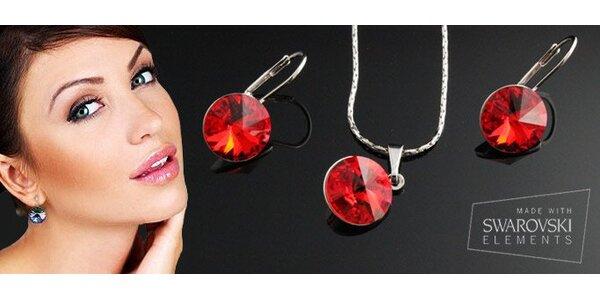 15,90 eur za náhrdelník a náušnice s pravými Swarovski Elements