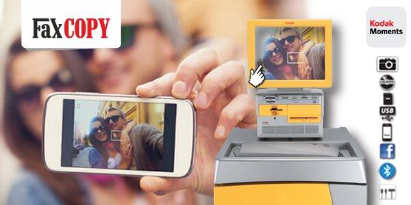 Tlač digitálnych fotografí na počkanie vo FaxCOPY