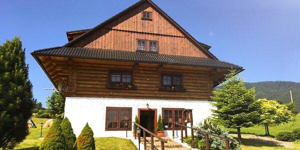 Jesenný pobyt v originálnej zrubovej kolibe Likava
