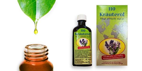 Bylinkový olej zo 101 bylín 100 ml