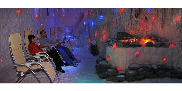 3,99 eur za 45 minútový pobyt v soľnej jaskyni pre celú rodinu