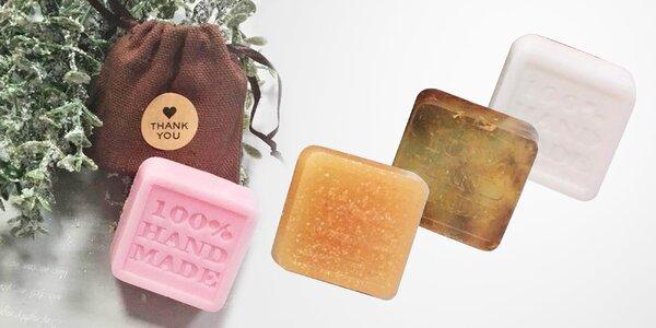 HANDMADE slovenské mydlá v 14 rôznych vôňach