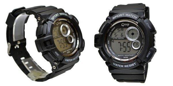 Outdoorové hodinky Gtup 1070 s odolným ABS puzdrom a vodotesnosťou 5ATM