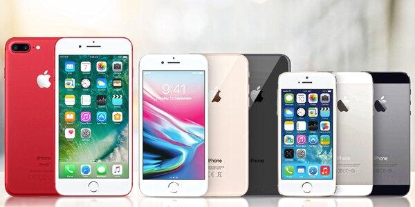 Zánovné Apple iPhone 5S, SE, 6, 6S, 7 i 7 Plus
