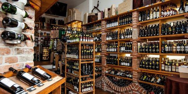 Otvorený voucher na nákup vín z celého sveta!