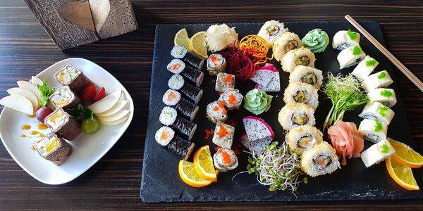Jesenný sushi set s novinkami v TOP Reštaurácii SUSHIHANIL pre 2 osoby