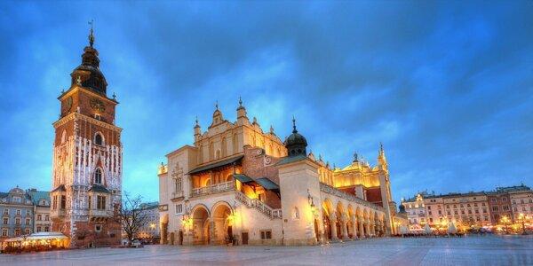 Čarovná dovolenka v životom pulzujúcom Krakove