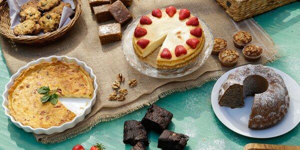 Nákup koláčov a zákuskov vo Fertuche so zľavou 15 alebo 20%