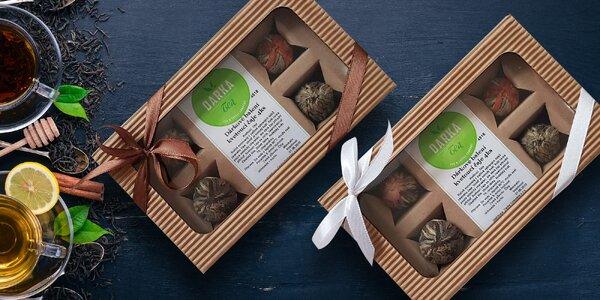 Darčekové sady zeleného kvitnúceho čaju