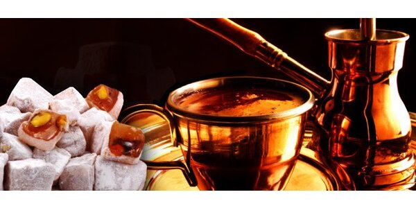 """0,45 eur za pravú tureckú varenú kávu a """"turecký zázrak"""""""