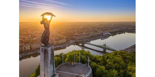 Pohoda v centre Budapešti s neobmedzeným wellness