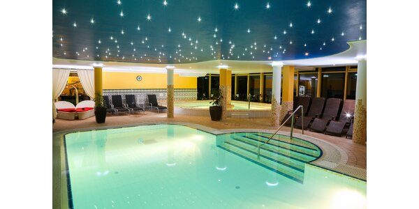 Skvelý wellness pobyt v 4* hoteli blízko jaskynných kúpeľov
