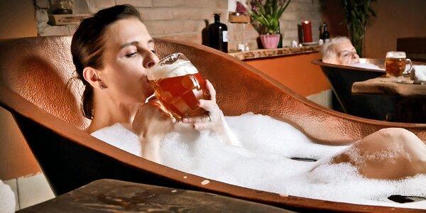 Rožnovské pivné kúpele: Pivný doktorát s degustáciou alebo procedúrami