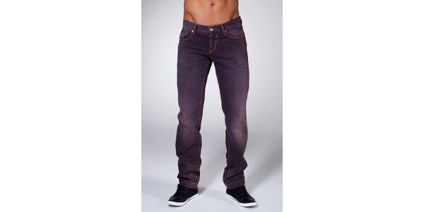 Pánske fialové džínsy Dolce & Gabbana