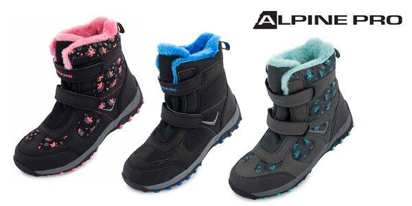 Detská zimná obuv Alpine Pro WANO