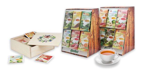 Darčekové sety čajov HERBEX