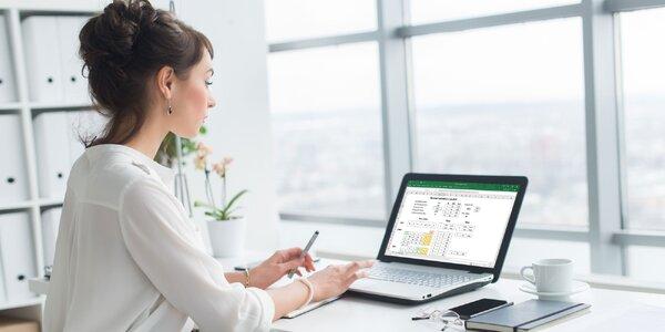 Online kurz Excelu pre všetkých