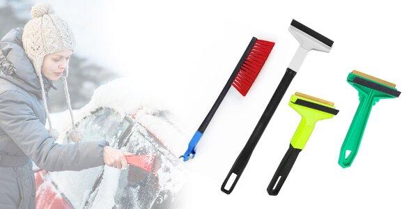 Fínska škrabka na autosklo s mosadzným ostrím
