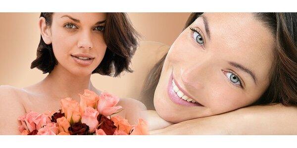 9,80 eur za kozmetické ošetrenie tváre a denné líčenie