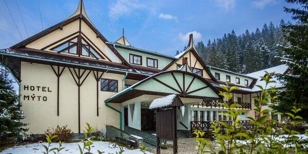 Zima s wellness v Hoteli Mýto*** Nízke Tatry až pri 3 lyž. strediskách!