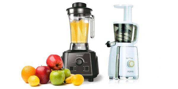 Šnekový odšťavovač a kuchynský mixér Orava