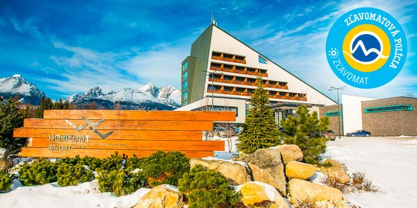 Výnimočný HORIZONT Resort**** s neobmedzeným wellness + aquaparkom AquaCity