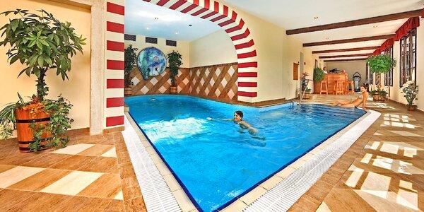 Pobyt v v 5* hoteli v centre Českého Krumlova s raňajkami a bazénom