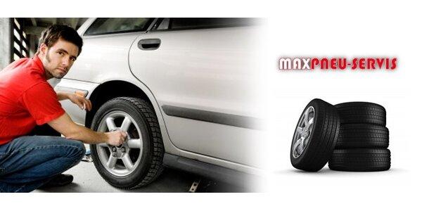 10,50 eur za vymenenie letných pneumatík za zimné a technická kontrola vozidla