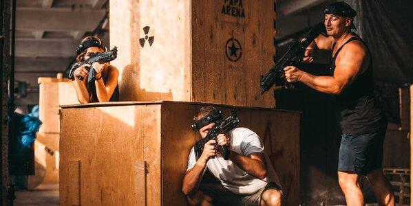 Laser game - akčná zábava v PAPA aréne