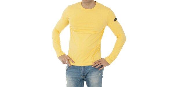 Pánske žlté tričko Bikkembergs