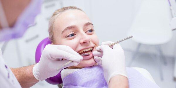 Balíčky dentálnej hygieny a bielenie zubov