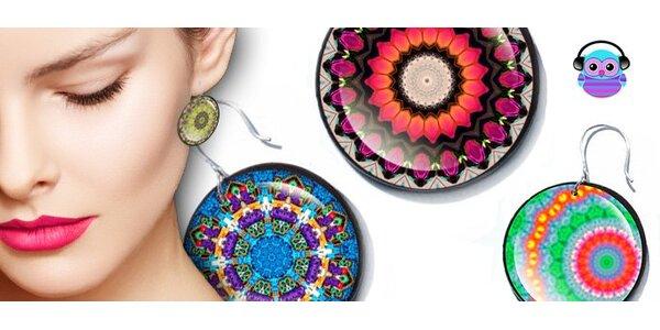 """1,50 eur za originálne, ručne robené náušnice z kolekcie """"Kaleidoskop"""""""