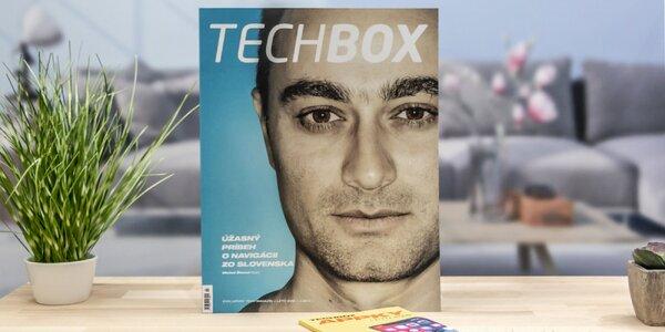 Ročné predplatné časopisu TECHBOX