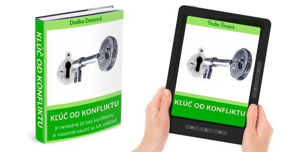 Kľúč od konfliktu: tlačená alebo e-kniha