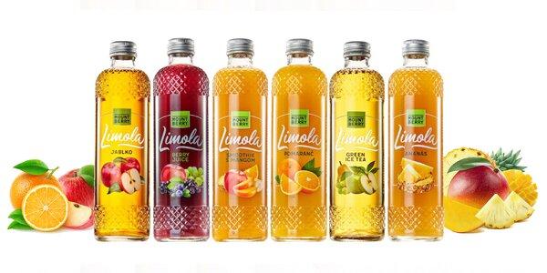 Lahodné 100% ovocné šťavy
