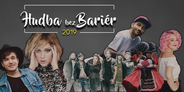 Vstupenka na koncert Hudba bez bariér 2019
