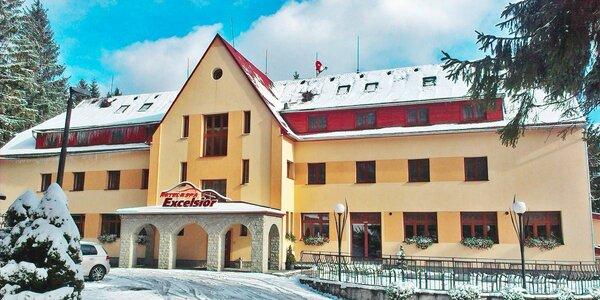 Relaxácia v Beskydách v Horskom hoteli Excelsior s kúpeľmi a wellness