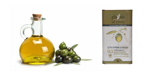 5 l extra panenského olivového oleja