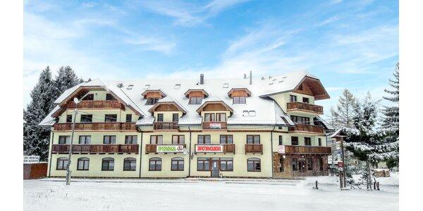 Zimná lyžovačka na Donovaloch v Apartmánovom dome Kamzík