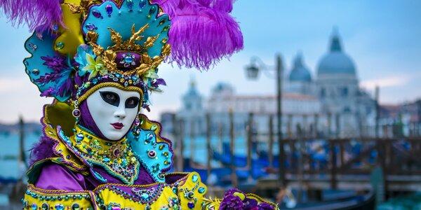 Benátsky karneval s ubytovaním v lagúne na ostrove Murano