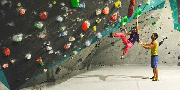 Vstup na lezeckú stenu - aj pre pokročilých