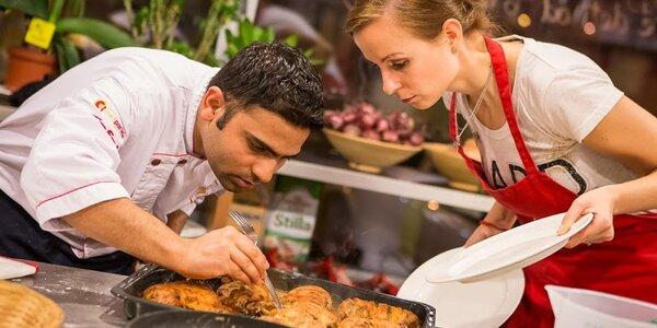 Kulinársky zážitok v škole varenia Chefparade