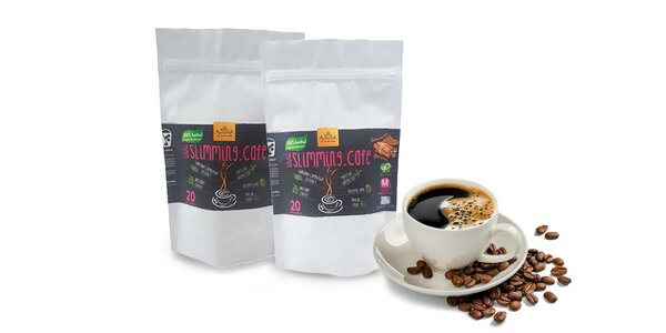 SLIMMING CAFE - výberová instantná káva