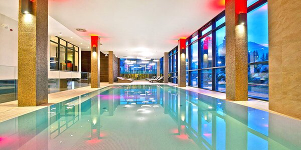 Oddych v centre Tatier so vstupom do luxusného SPA wellness
