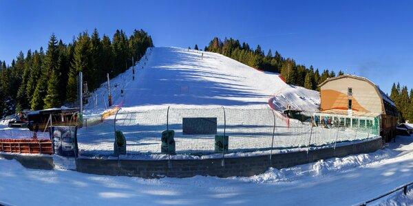 Rodinný lyžiarsky pobyt na svahu, so skipasmi a wellness v Oravskej prírode