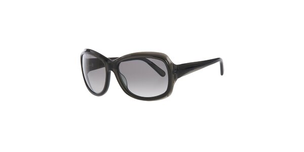 Dámske antracitové slnečné okuliare Calvin Klein