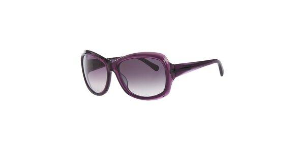 Dámske tmavo fialové slnečné okuliare Calvin Klein