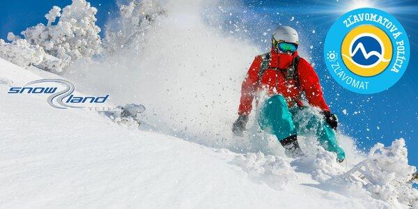 Celosezónny skipas v Snowland Valčianska dolina