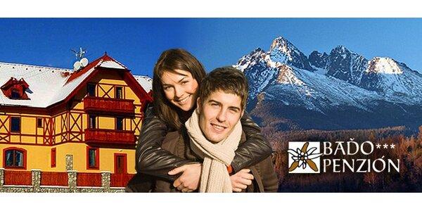 99 eur za 3-dňový pobyt pre celú rodinu vo Vysokých Tatrách! Zľava 53%